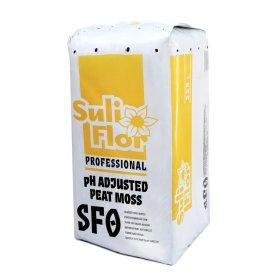 Durpės, nurūgštintos SULIFLOR SFO