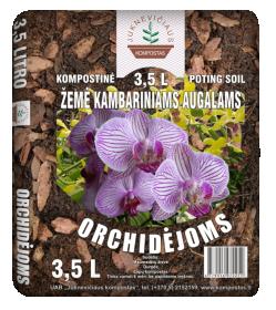 Žemė orchidėjoms