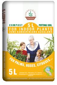 Kompostinė žemė palmėms