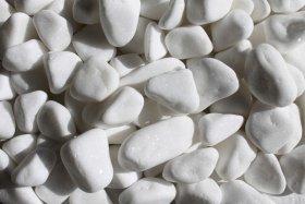 Dekoratyviniai akmenukai, balti
