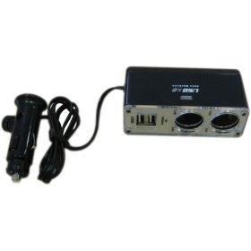 Skirstytuvas  ALBURNUS ST003 2 lizdų, 2 USB jungtys ,