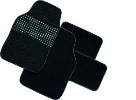 Kilimėliai automobiliui GUM-PAD medžiaginiai, juodi, 4vnt