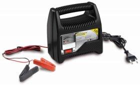 Akumuliatoriaus įkroviklis su amperometru BOTTARI 8 AMP Battery charger