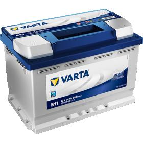 Akumuliatorius VARTA, Blue dynamic, 12V/74AH/680A, 278 x 175 x 190 mm, E11