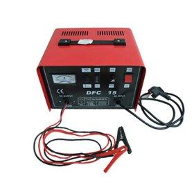 Akumuliatoriaus įkroviklis  DFC-15, 15 A Krauti 12-24 V akumuliatoriams, 1 m. garantija,
