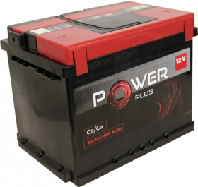 Akumuliatorius POWER PLUS PWP60