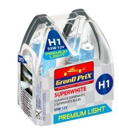 Automobilinė lemputė GRANDPRIX H1, halogeninė, 2 vnt., 33799