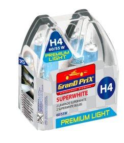 Automobilinių lempučių komplektas H4, 2vnt., halogeninės, aukšto galingumo