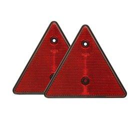Trikampių rinkinys, atspindinčių šviesą, 2 vnt