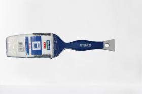 Plokščias teptukas MAKO, visų tipų lakams, 50 mm / 14,0 mm, (355450)