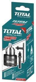 """Griebtuvas drėlei TOTAL, 1.5-13 mm, su adapteriu, 1/2""""-20UNF, TAC451301.1"""