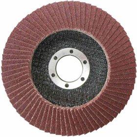 Žiedlapinis diskas TOTAL, kampiniam šlifuokliui, 115x22 mm, P80, TAC631153