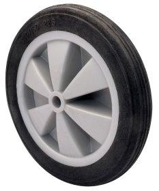 Karučio ratas WAGNER, su plastikiniu disku, skersmuo 15cm, su guoliu