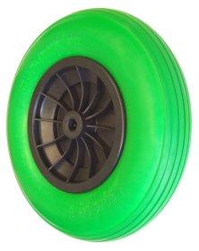 Karučio ratas, pilnaviduris WAGNER, 40x7,5x2cm, plastikinis guolis