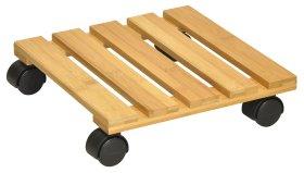 """Padėklas vazonui WAGNER iš bambuko """"BAMBOO"""", išmatavimai 290x290cm"""