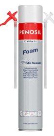 Montavimo putos PENOSIL Standard Foam, 640 ml
