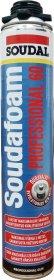 Montavimo putos SOUDAL SOUDAFOAM GUN PROF-60, 750 ml