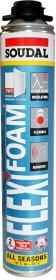 Sandarinimo putos SOUDAL Flexifoam Gun, izoliacinės, 750 ml