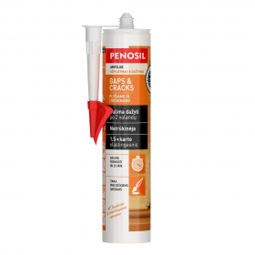 Akrilinis hermetikas PENOSIL Gaps & Cracks, 310 ml