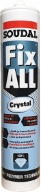 Klijai - hermetikas SOUDAL FIX ALL CRYSTAL, 290 ml