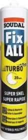 Klijai - hermetikas SOUDAL FIX ALL TURBO, 290 ml