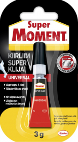Universalūs klijai Super MOMENT, 3 g
