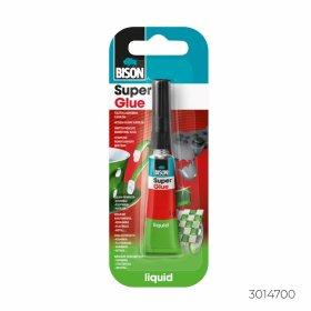 Momentiniai klijai BISON SUPER GLUE LIQUID, 2 g
