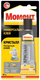 Kontaktiniai klijai MOMENT Crystal Blister, 30 ml MOMENT CRYSTAL BLISTER, 30 ml