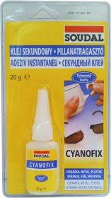 Momentiniai klijai CYANOFIX 84A, 20 g SOUDAL CYANOFIX 84A, 20 g