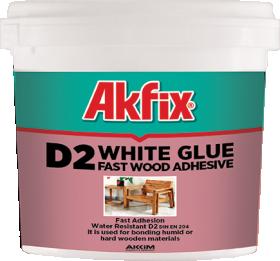 Medienos klijai Akfix D2, 3kg