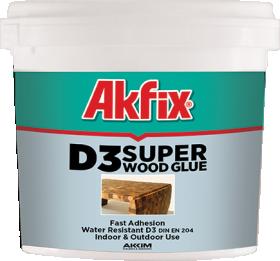 PVA klijai Akfix D3, 3 kg