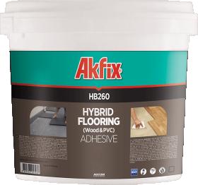 Hibridiniai klijai parketui ir PVC dangoms AKFIX HB260, 8 kg