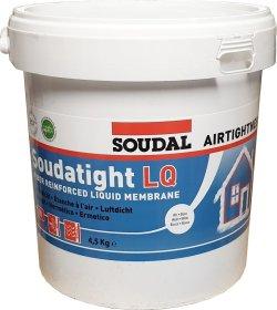 Garoizoliacinė mastika SOUDAL Soudatight LQ, balta spalva, 4,5 kg