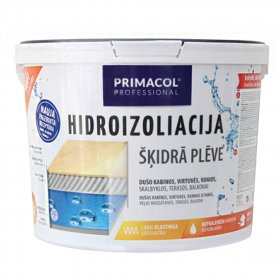 Hidroizoliacija PRIMACOL, vidaus ir lauko darbams, 1,5 kg