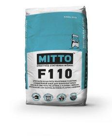 Klijai putų polistireno plokštėms  Mitto F110, 25 kg
