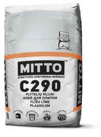 Klijai plytelėms keraminėms MITTO C290 25 kg