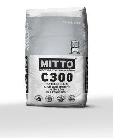 Klijai plytelėms, keraminėms, akmens masės  Mitto C300, 25 kg