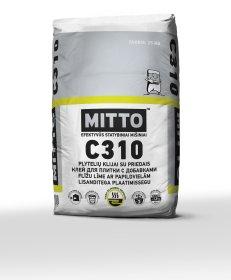 Klijai keraminėms ir akmens masės plytelėms  Mitto C310, 25 kg