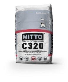 Klijai plytelėms  Mitto C320, 25 kg, Balta spalva, ypač elastingi