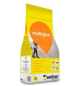 Plytelių klijai WEBER Multi Glue balti, elastingi ,vidaus ir išorės darbams , 5kg