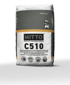 Klijai akyto betono ir silikatiniams blokeliams  Mitto C510, 25 kg