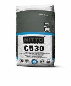 Klijai akyto betono ir silikatiniams blokeliams  Mitto C530, 25 kg, žieminiai