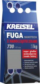 Plytelių tarpų glaistas KREISEL Fuga Nanotech 730, 2 kg Balta 01/2A