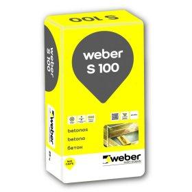 Sausas betonas Weber, S-100, 25kg