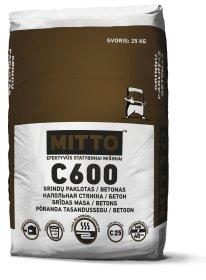 Sausas betonas MITTO C600, 25 kg