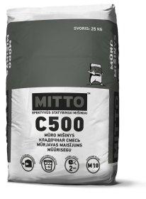 Mūro mišinys MITTO C500, 25 kg