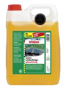 Automobilio langų ploviklis SONAX  5 l citrinų kvapo, vasarinis