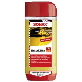 Automobilinis šampūnas su vašku SONAX, 500 ml