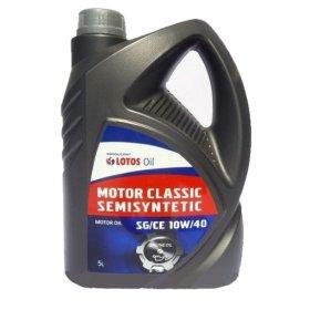 Variklinė alyva LOTOS 10W-40 Motor classic SG/CE, 5l, pusiau sintetinė, benzininiams varikliams