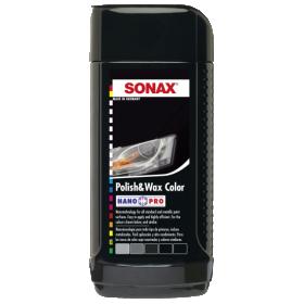 Polirolis SONAX Polish and Wax, juodas